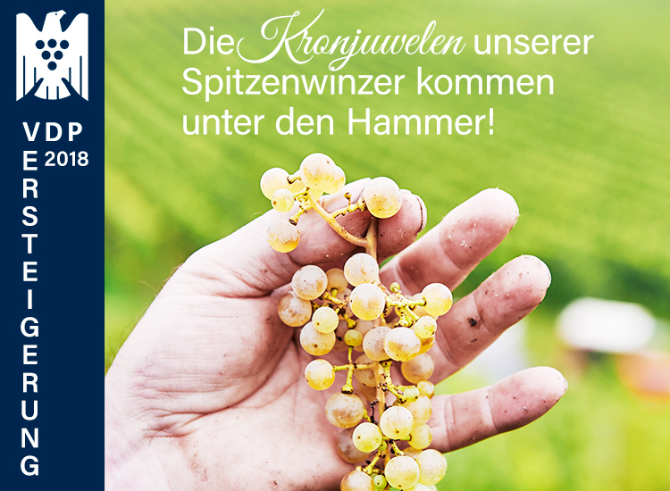 VDP Versteigerung - Deutschland Kronjuwelen kommen unter den Hammer. Bieten Sie mit