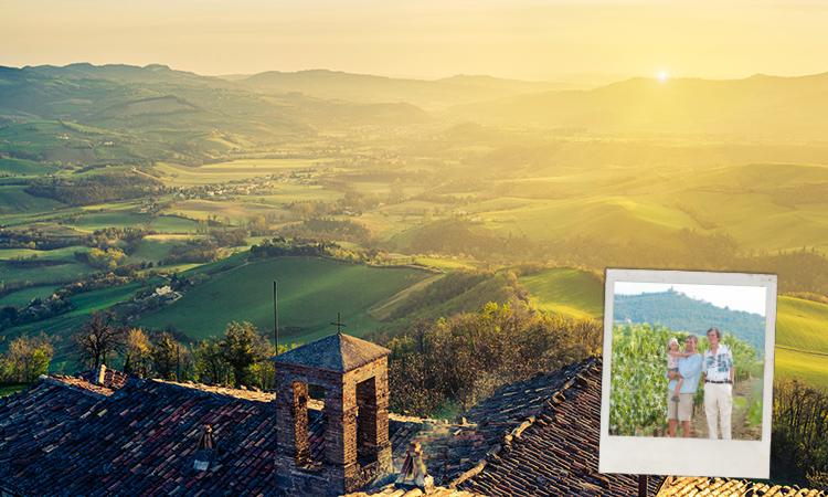 Einmal quer durch Italien