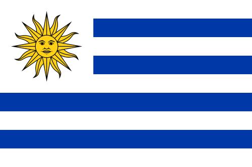 Fussball WM - Uruguay