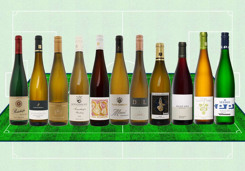 Unsere Wein-Elf