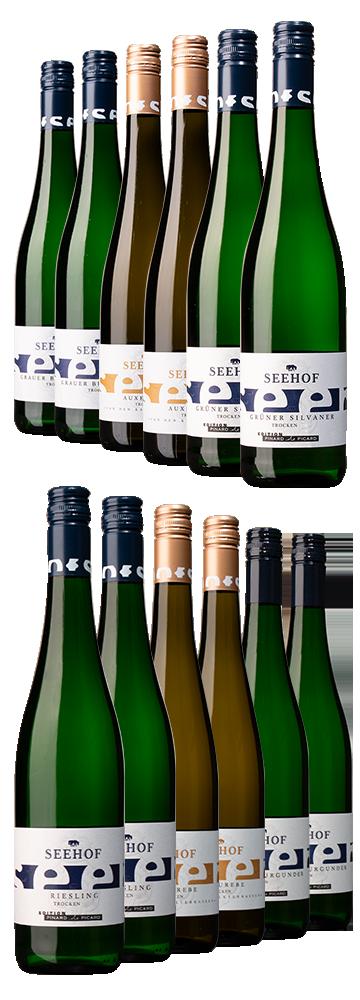 Seehof-Rebsorten-Probierpaket (12 Flaschen)
