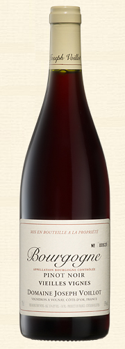 Joseph Voillot, Bourgogne Pinot Noir Vieilles Vignes, rouge