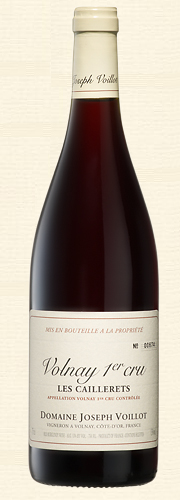 "Joseph Voillot, Volnay 1er Cru ""Les Caillerets"", rouge 2012"