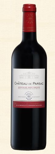 Château de Parsac, Montagne-St-Emilion rouge