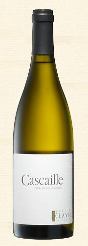 """Pierre Clavel, """"Cascaille"""", blanc"""