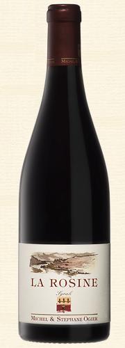 """Ogier, """"La Rosine"""", Vin de Pays Rhodanienne, rouge"""