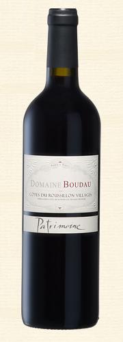 Boudau, Cuvée Patrimoine, Côtes du Roussillon Villages, rouge