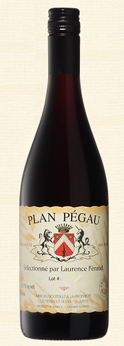 "Pégau, ""Plan Pégau"", Vin de Table rouge (DV)"