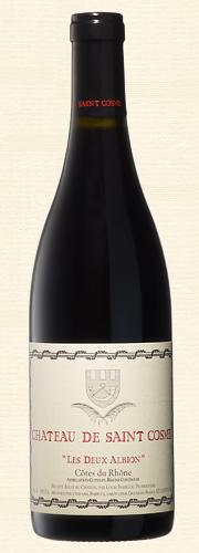 """Saint Cosme, """"Les deux Albion"""", Côtes du Rhône rouge"""