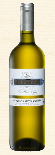 """Berthoumieu, """"Les Pierres du Grés"""", Pacherenc du Vic-Bilh Sec, blanc"""