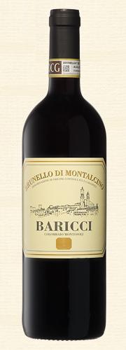 Baricci, Brunello di Montalcino, rosso