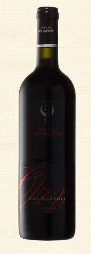 San Jacopo, Orma Del Diavolo, rosso