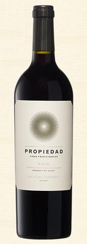 """Palacios, """"Propiedad"""", Rioja tinto"""