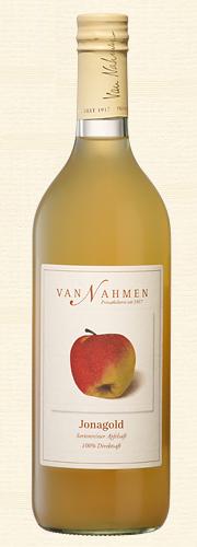 Van Nahmen, Jonagold, Sortenreiner Apfelsaft (100% Direktsaft) Bio-Qualität