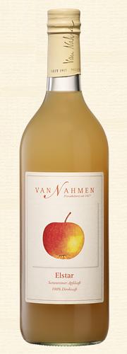 Van Nahmen, Elstar, Sortenreiner Apfelsaft (100% Direktsaft), Bio-Qualität