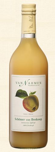 Van Nahmen, Schöner von Boskoop, Sortenreiner Apfelsaft (100% Direktsaft)