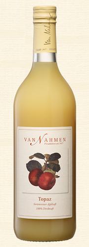 Van Nahmen, Topaz, Sortenreiner Apfelsaft (100% Direktsaft), Bio-Qualität