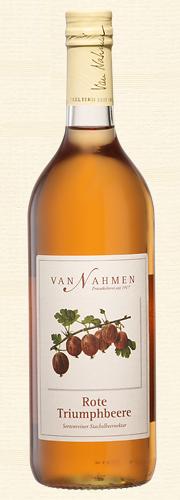 Van Nahmen, Rote Triumphbeere, Sortenreiner Stachelbeernektar (55% Direktsaftanteil)
