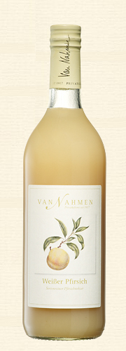Van Nahmen, Weißer Pfirsichnektar, Sortenreiner Pfirsichnektar (55% Direktsaftanteil)