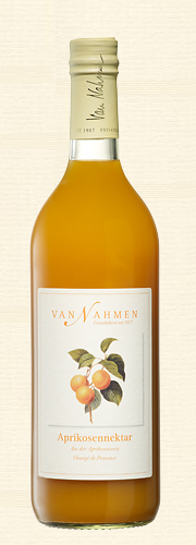 Van Nahmen, Aprikosennektar, Sortenreiner Aprikosennektar (45% Direktsaftanteil)