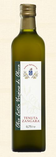 Tenuta Zangara, Olivenöl Extra Vergine