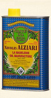 Alziari, Olivenöl Vierge Extra