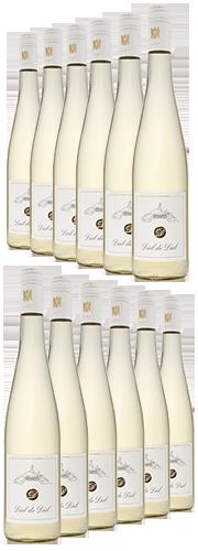 Diel de Diel, Weißwein QbA  (12 Flaschen)