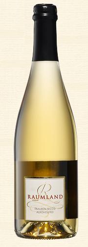 Raumland, Weißer Trauben-Secco (alkoholfrei)