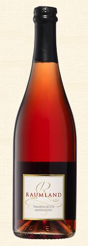 Raumland, Roter Trauben-Secco (alkoholfrei)