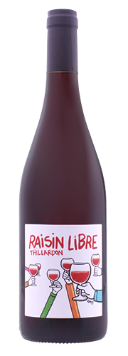 "Thillardon, ""Raisin Libre"", rouge 2015"