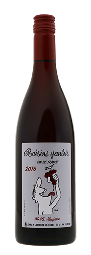 """Raisins Gaulois"", VdF rouge"