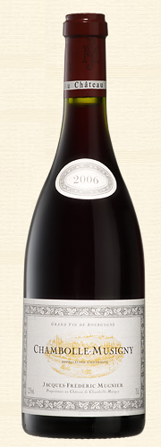 Mugnier, Mugnier, Chambolle Musigny, rouge 2006