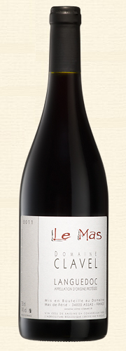 Pierre Clavel, Le Mas, rouge 2011