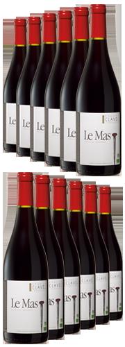Le Mas, rouge  (12 Flaschen)