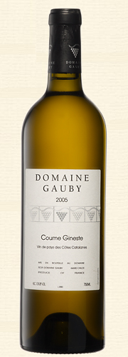 "Gauby, Gauby, ""Coume Gineste"", V.d.P. Côtes Catalanes, blanc 2005"