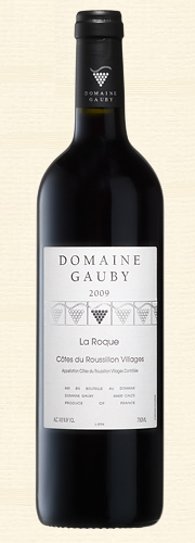 "Gauby, ""La Roque"", rouge 2009"