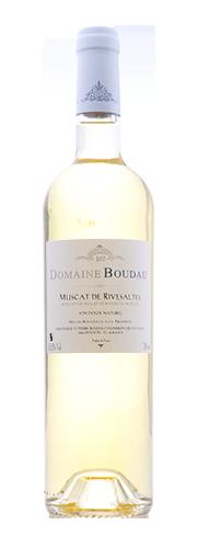 Boudau, VDN Muscat de Rivesaltes, blanc