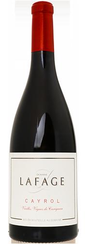 """Cayrol"", Carignan Vieilles Vignes rouge"
