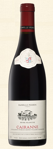 "Perrin, ""Peyre Blanche"" Cairanne Village rouge 2010"