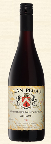 "Pégau, ""Plan Pégau"", Vin de Table rouge 2009"
