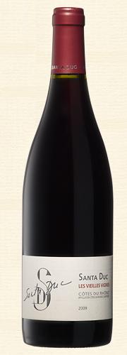 Santa Duc, Côtes du Rhône, Vieilles Vignes rouge 2009