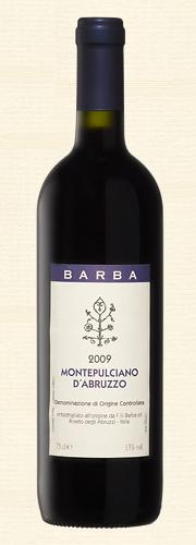 """Fratelli Barba, """"Barba"""", Montepulciano d'Abruzzo rosso"""