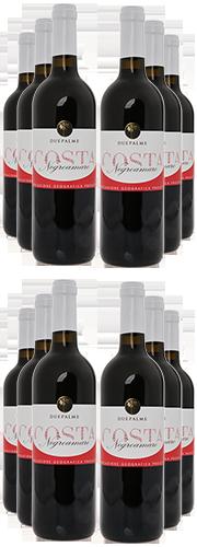 """""""Costa"""" Negroamaro, rosso  (12 Flaschen)"""