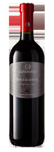 """Cusumano, """"Benuara"""", rosso"""