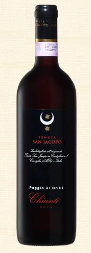 San Jacopo, Poggio Ai Grilli, Chianti DOCG rosso 2008