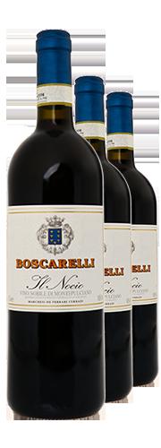 """""""Il Nocio"""" Jahrgangsvertikale 2011, 2012, 2013 (3 Flaschen)"""