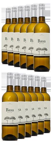 Basa, Vino de Rueda blanco,  (12 Flaschen)