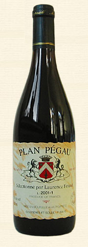Pégau, Plan Pégau, Vin de Table rouge 2003