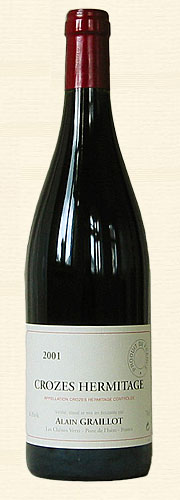 Graillot, Crozes-Hermitage, rouge 2001