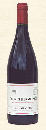 Graillot, Crozes-Hermitage, rouge 1998
